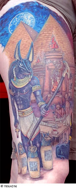 Anubis Tattoo