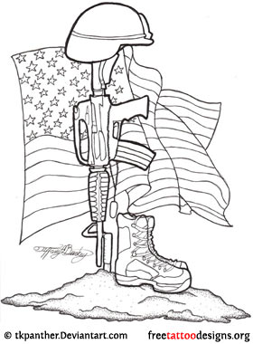 Army Tattoo Drawings