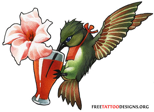 Birds Tattoos Illustrations: Pictures Of Bird Tattoos