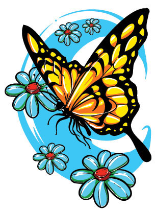 Butterfly Tattoo On Lower Back. utterfly tattoos Butterfly Tattoo Designs Lower Back