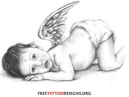 Angel Tattoos Angel Wings Guardian Angel and St Michael Tattoo Designs