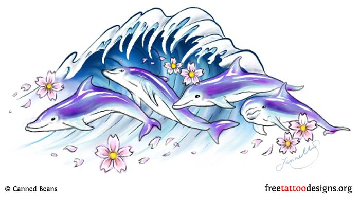 abc6f7d60 35 Dolphin Tattoos and Tattoo Designs
