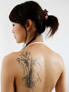 Fairy tattoo