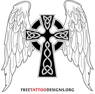 Gothic Cross Tattoo