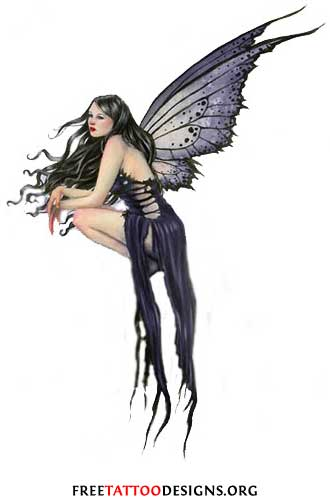 Gothic Fairy Tattoo