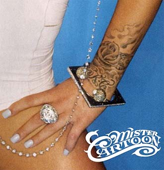 Keyshia Cole's wrist tattoo