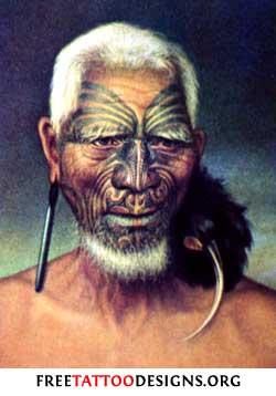 Maori Tattoo Art