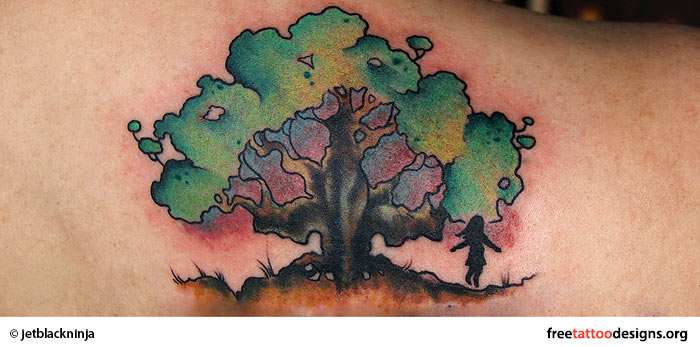 Oak tattoo