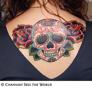 Celebrity hand tattoo
