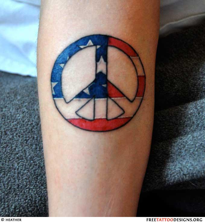 Inner Peace Symbol Tattoos