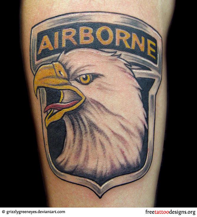 101 Airborne Tattoos