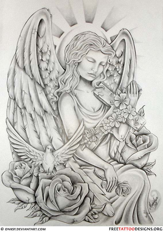 ... tattoos that are so popular nowadays are actually cherub tattoos see