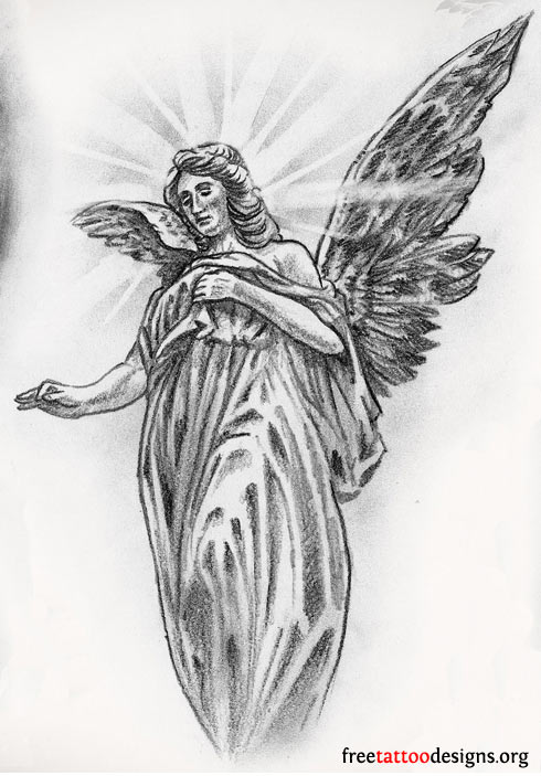 ... angel tattoos that are so popular nowadays are actually cherub tattoos