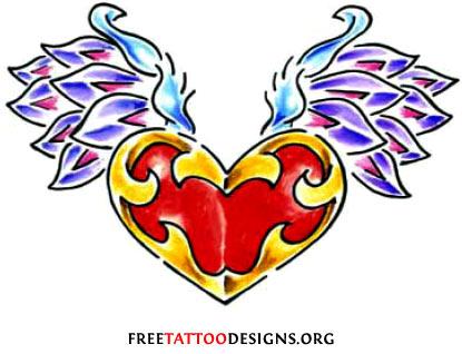 Heart Tattoo Gallery Rose Sacred Broken Celtic Tribal Heart
