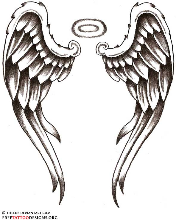 68d073b85006d Angel Tattoos | Angel Wings, Guardian Angel and St Michael Designs
