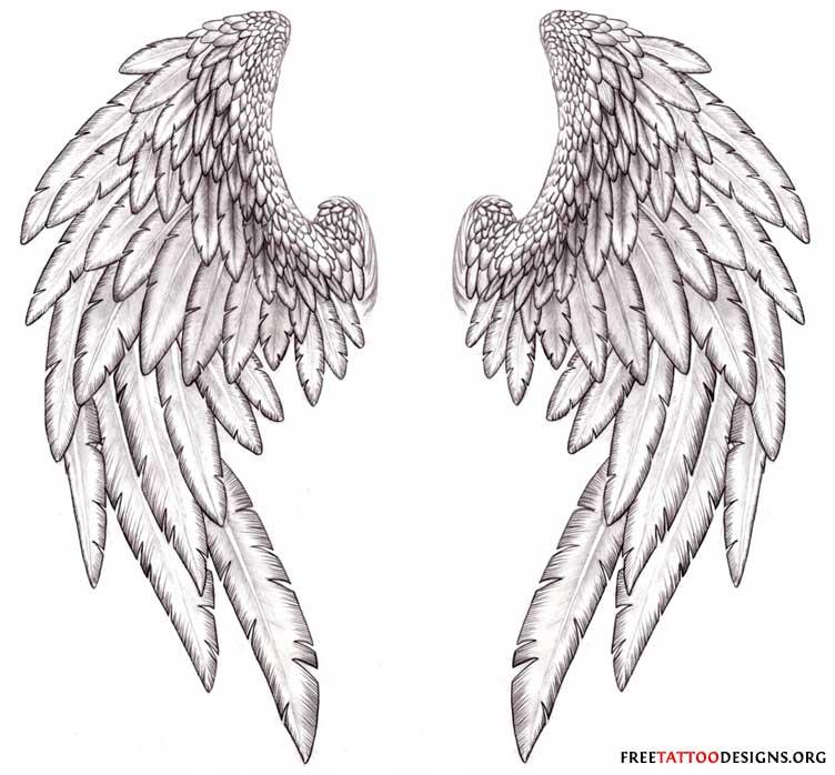 Angel Tattoo Designs For Women Free Angel Wing Tattoo Designs