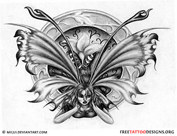 52e63c22d Fairy Tattoos | Cute, Evil, Small Fairy Tattoo Designs And Ideas