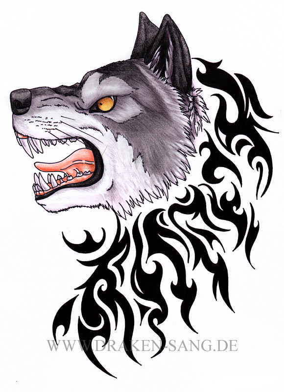 Wolf Tattoos Irish Loyalty Symbol Tattoo