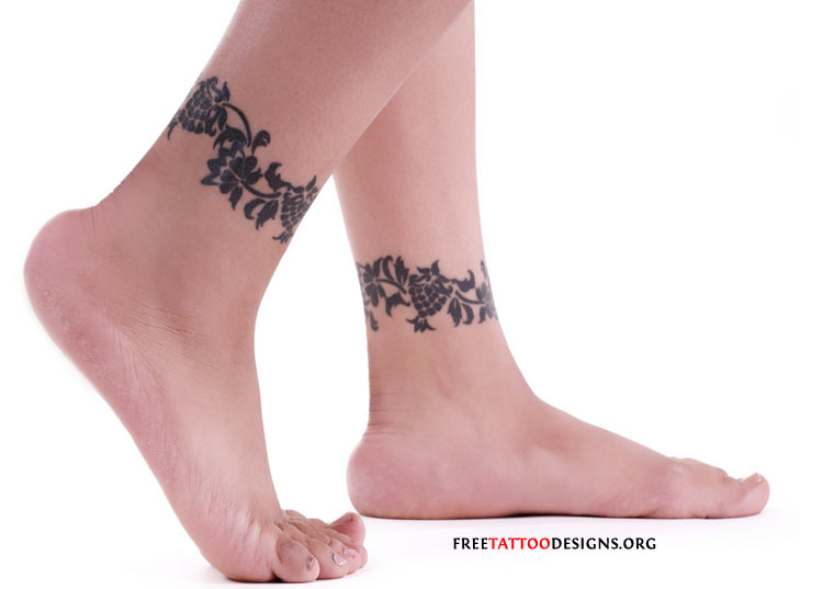 ankle tattoo designs. Tattoo Free Designs