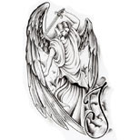 Archangel tattoo design