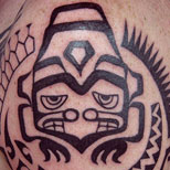 Tribal on Upper Arm