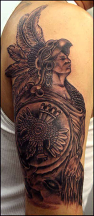 want design my own tattoo free online aztec indian