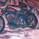 Bad Biker Tattoo