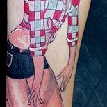 Bad pin up tattoo
