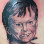 Bad Portrait Tattoo