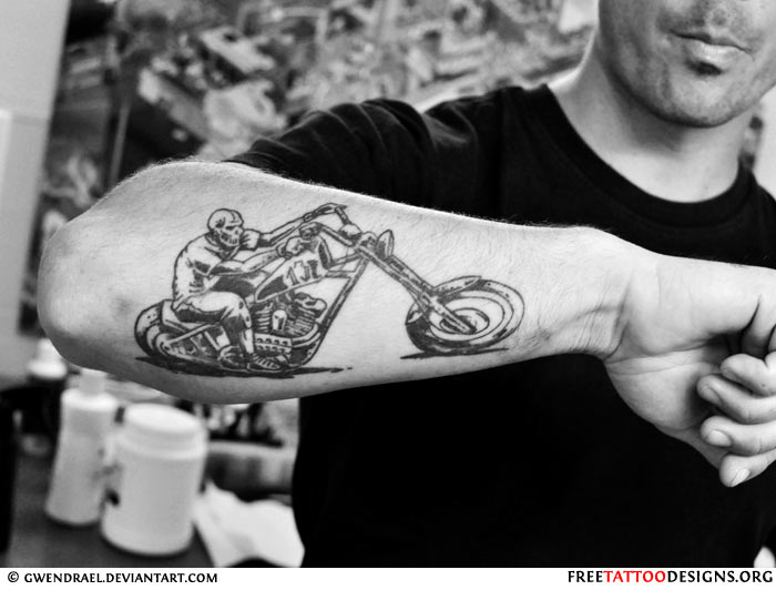Harley-Davidson Biker Tattoos