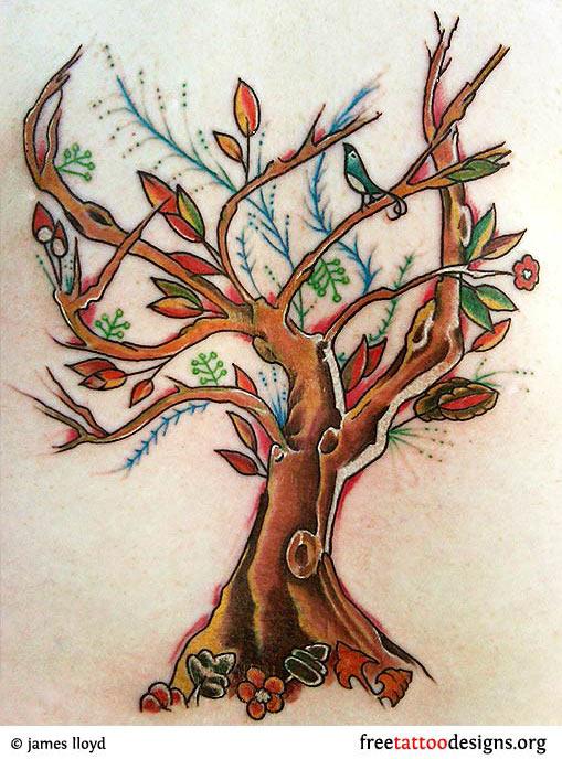 tree tattoos palm tree of life pine tree tattoo. Black Bedroom Furniture Sets. Home Design Ideas