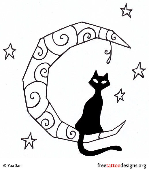 Cat Tattoos Every Cat Tattoo Design Placement And Style: Gothic Tattoos