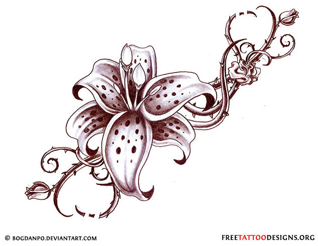 tattoo design Flower