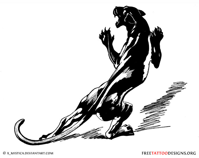 Black Panther Tattoo Black Panther Tattoo Design