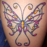 new Butterfly Tattoo
