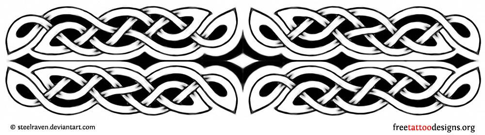 Armband tattoos tribal native american and feminine designs celtic armband tattoo design urmus Image collections