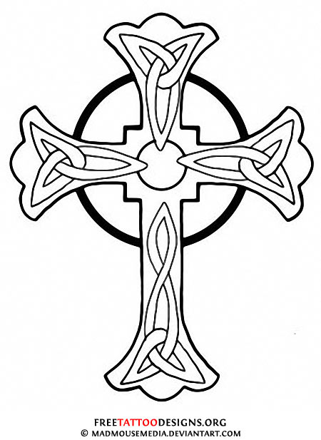 5 Tatoos Topic Shamrock Cross Tattoo Designs