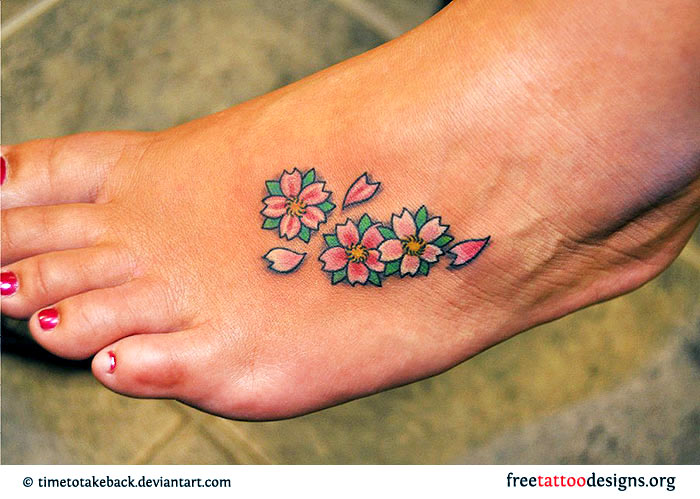 Foot tattoos for Tattoo ideas for foot