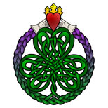Claddagh tattoo design