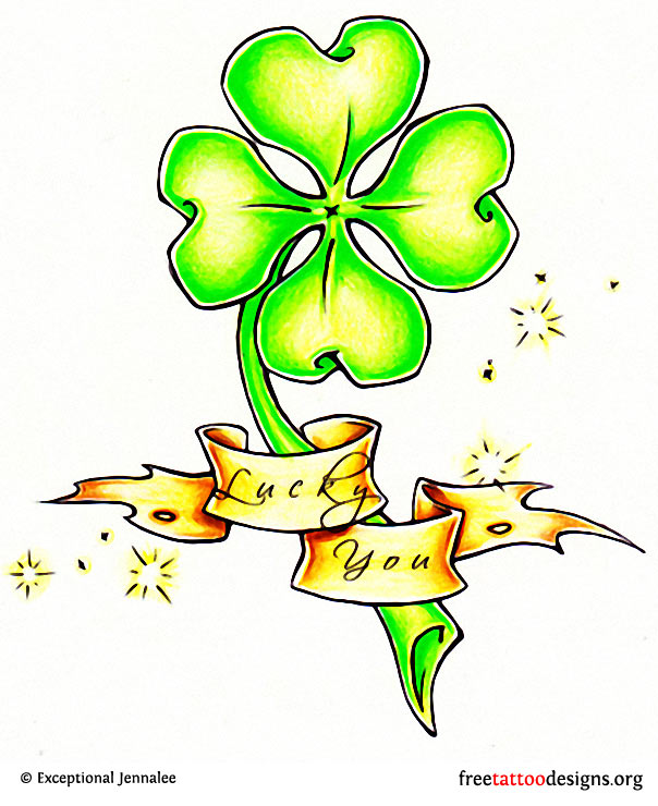 77 Irish Tattoos | Shamrock, Clover, Cross, Claddagh ...