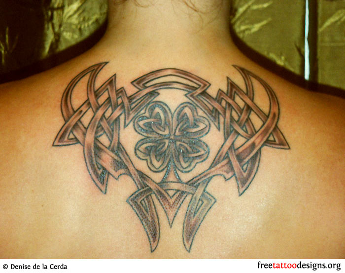 95e02095e 77 Irish Tattoos | Shamrock, Clover, Cross, Claddagh Tattoo Designs