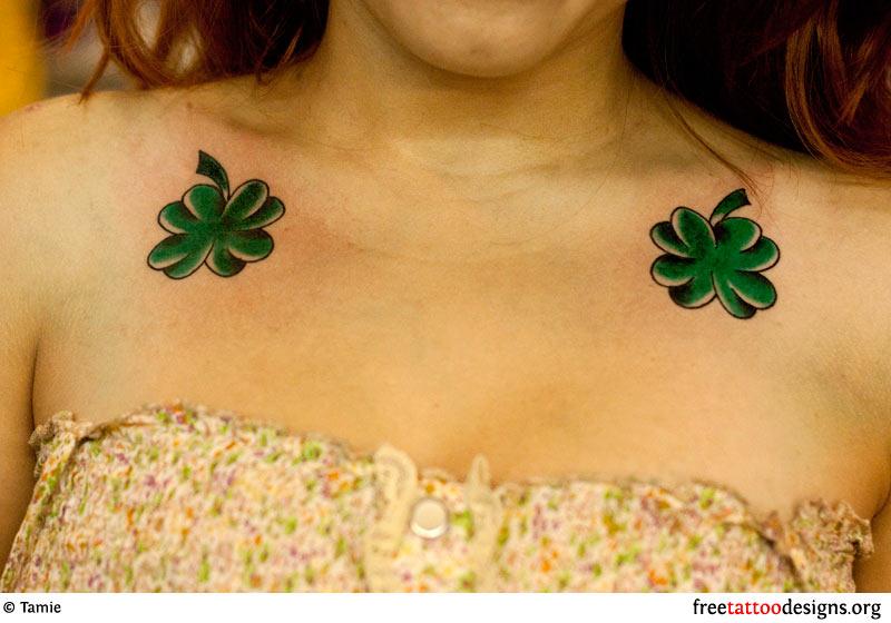 77 Irish Tattoos Shamrock Clover Cross Claddagh Tattoo Designs,Modern Front Gate Landscape Design