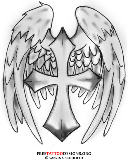 Broken Angel Wings Tattoo Designs http://www.tattoodonkey.com/-tattoo-pictures-or-designs-to-enlarge-them-more-about-cross-tattoos/freetattoodesigns.org*images*tattoo-gallery*cross-angel-wings-tattoo.jpg/