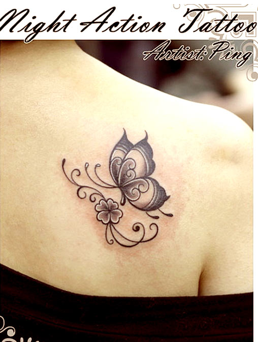 c8787f447 60 Butterfly Tattoos | Feminine And Tribal Butterfly Tattoo Designs