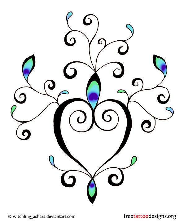 Backgrounds Heart Tattoos Page 2 Picture