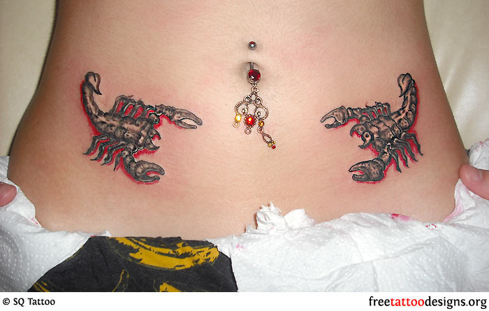 тату скорпион для девушки скорпиона этом году изменили