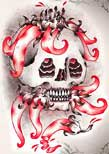 Cute Skull Tattoos