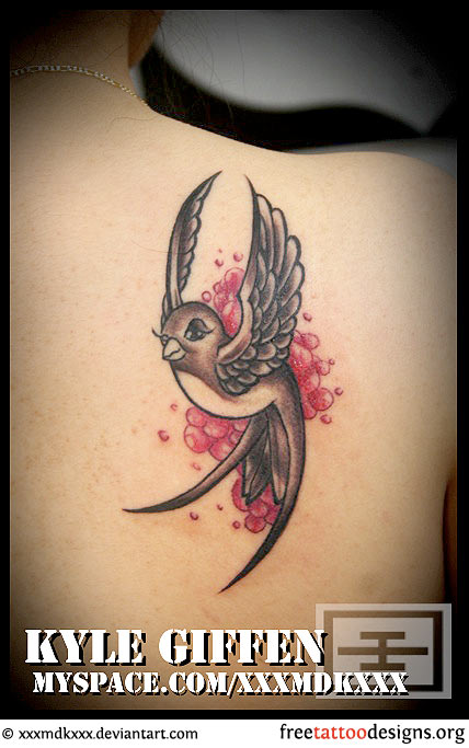 And Pictures Of Swallow Tattoo Designs
