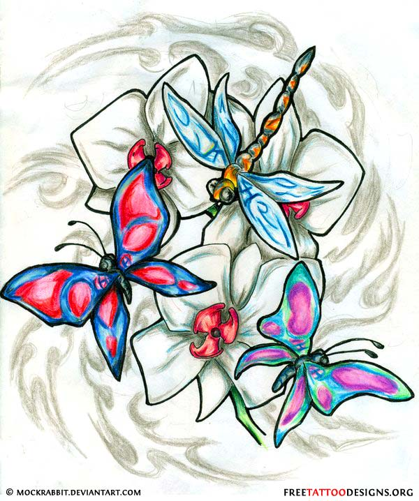 50 Dragonfly Tattoos - photo#4