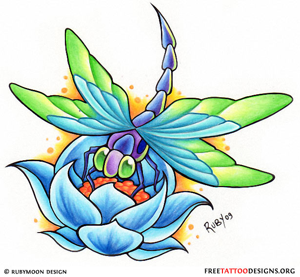 50 dragonfly tattoos for Free tattoo design